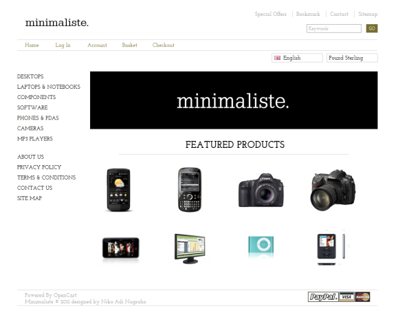 Minimaliste Preview
